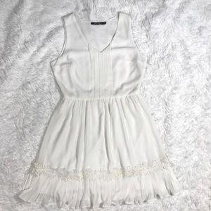 White Doe and Rae mini dress